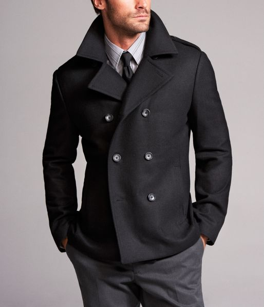 How to Wear a Pea Coat for Men - The Trend Spotter 25