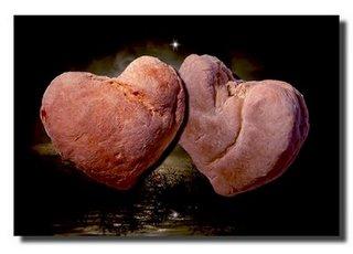 pão caseiro do amor