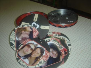 scrapbook com cd ou dvd