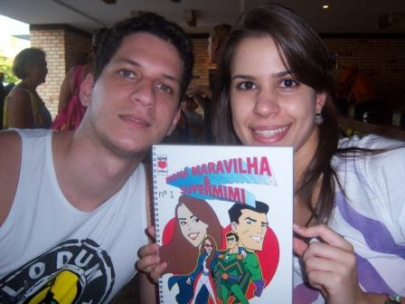 revista em quadrinhos para namorados