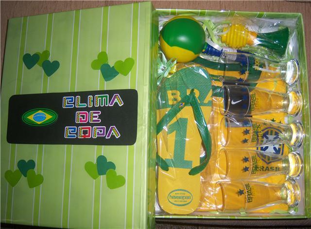 kit torcedor brasil
