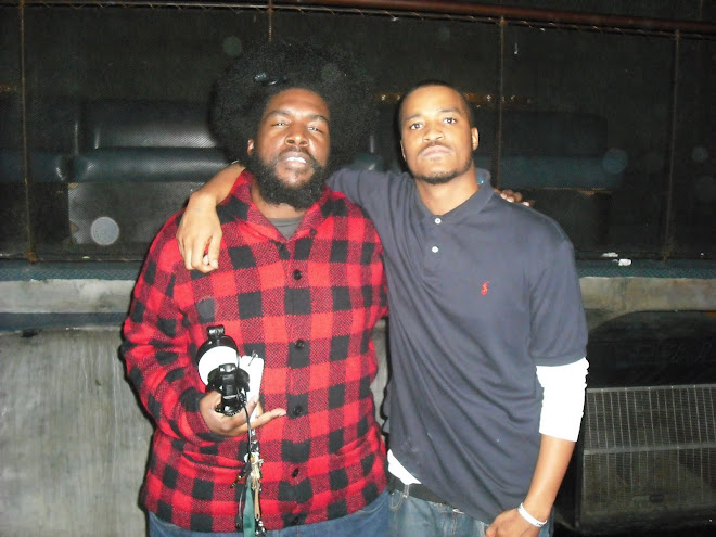 Me in my cousin Questlove