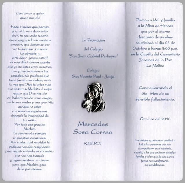 Cementerio Jardines De La Paz La Molina Al Conmemorar El 6to Mes De Su