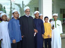 dengan al-a'lim alamah dr.jamal farouk ad-daqqaq al-hasani(pensyarah uni.al-azhar)