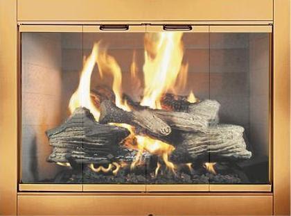 Fireplace Doors Guide Revere Fireplace Glass Door