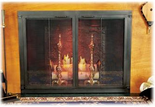 When Purchasing Fireplace Glass Doors, One Of The Most Important Features  To Consider Is The Material Out Of Which They Are Made. Wrought Iron ...