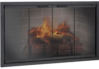 Fireplace Doors Guide: The Stiletto Zero Clearance Fireplace Door ...