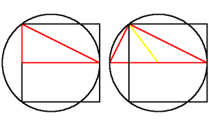 Dos triángulos