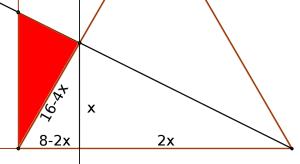 Detalle del triángulo sombreado