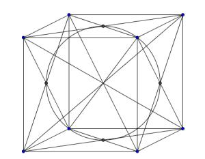 Sección de esfera inscrita
