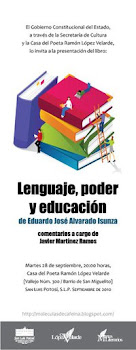"""Presentación del libro """"Lenguaje, poder y educación"""""""