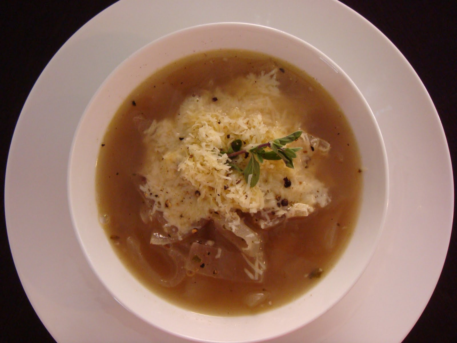 Onion soup is a great starter dish for lunch or dinner and is quick ...