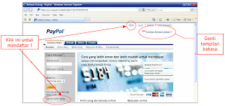 PayPal+1 Cara Membuat Rekening PayPal 100% Gratis
