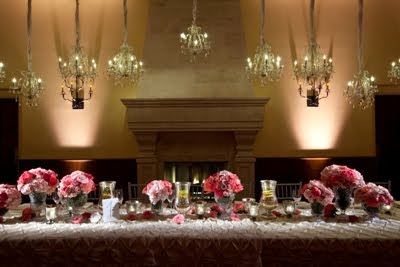 Wedding Tables Pictures on Mint Julep Social Events   Wedding Planners  Champagne   Chandeliers