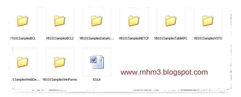 أقدم لكم اليوم 101 تطبيق و مشروع باستخدام لغة الفيجوال بيسك مقدم من شركة ميكروسوفت مباشرة  Q1