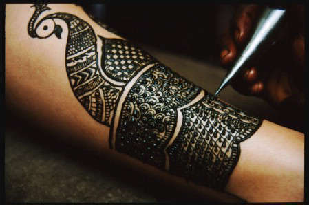 Mehndi Real Tattoo : Fabulous art: real art of mehndi