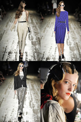 YES: HAIR AND SUNGLASSES IN PROENZA SCHOULER SS09