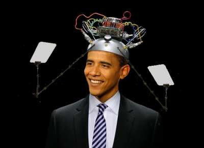 Obama teleprompter