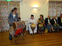 Wedding drumming