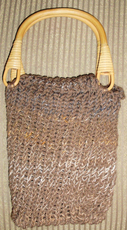 LOOM DUDE: Two Loom Knit Purses!