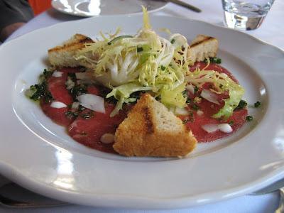 Ontario beef carpaccio