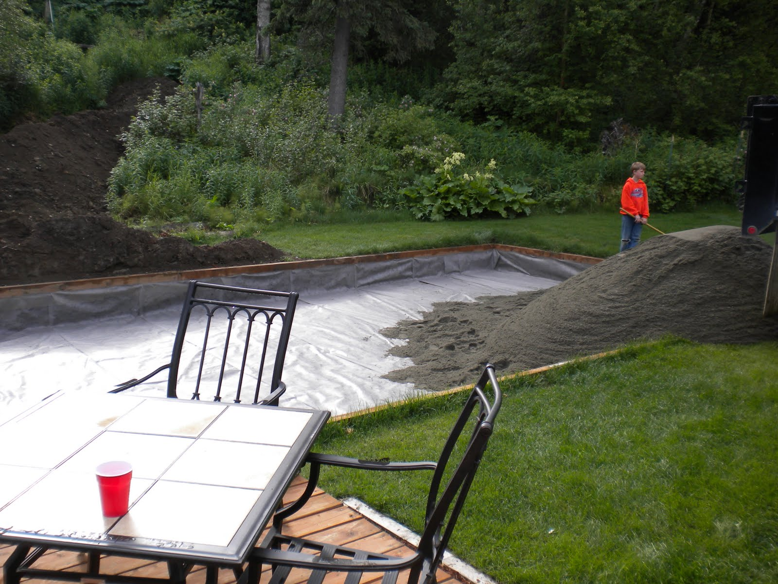 The Quest for the Backyard Sand Volleyball Court