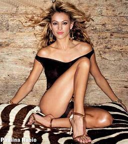 imagenes de paulina rubio sin ropa - Paulina Rubio no se anda con rodeos y así le llamó a