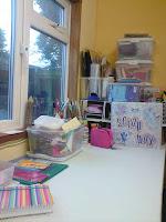 desk in my new workspace
