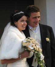 Fra bryllupsdagen vår 06.10.07