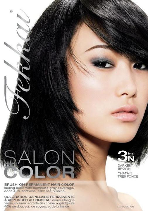 Asian Models Blog Shu Pei Ad Campaign For Fekkai Salon Color
