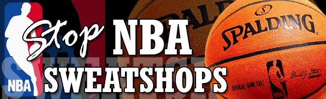 NBA Sweatshops