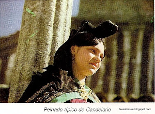 Peinado típico de Candelario Salamanca
