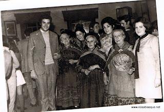De Fiesta en Candelario Salamanca en los años 70