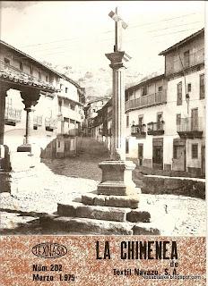 Candelario Salamanca en la portada del La Chimenea del Navazo