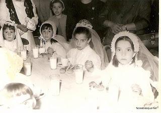 Primera comunión Candelario salamanca 1967