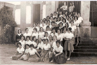 La sección femenina en el albergue de Candelario Salamanca