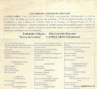 Candelario Salamanca anuario de comercio 1908