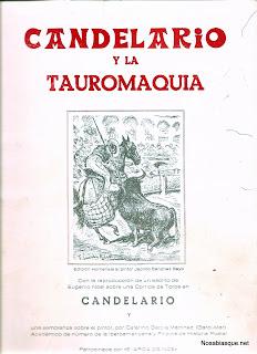 Candelario y la taurmaquia