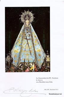 Imagen de la Virgen del Castañar patrona de Bejar y su comarca