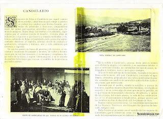 Candelario, articulo de finales del siglo XVIII