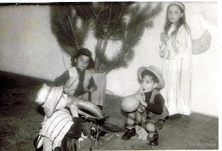 Candelario Salamanca Belen viviente en Auxilio Social 1972
