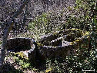 Candelario Salamanca ruinas de la fabrica de papel el Barquillo