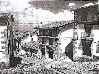 Candelario Salamanca Cuesta de la Romana desde la iglesia