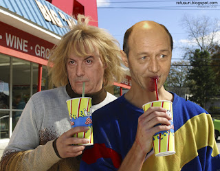 Basescu si Tariceanu - Dumb And Dumber
