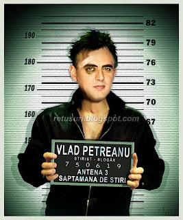 Vlad Petreanu - In arest dupa chef
