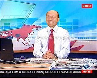 Traian Basescu - In gura presei