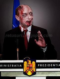 Traian Basescu Moroi, Strigoi, Zombie - Costum Halloween