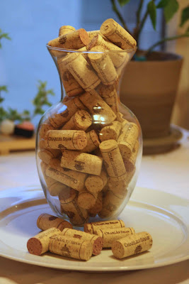 corks in half