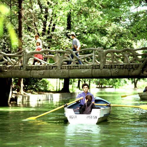Pod lemn- Parcul Cismigiu