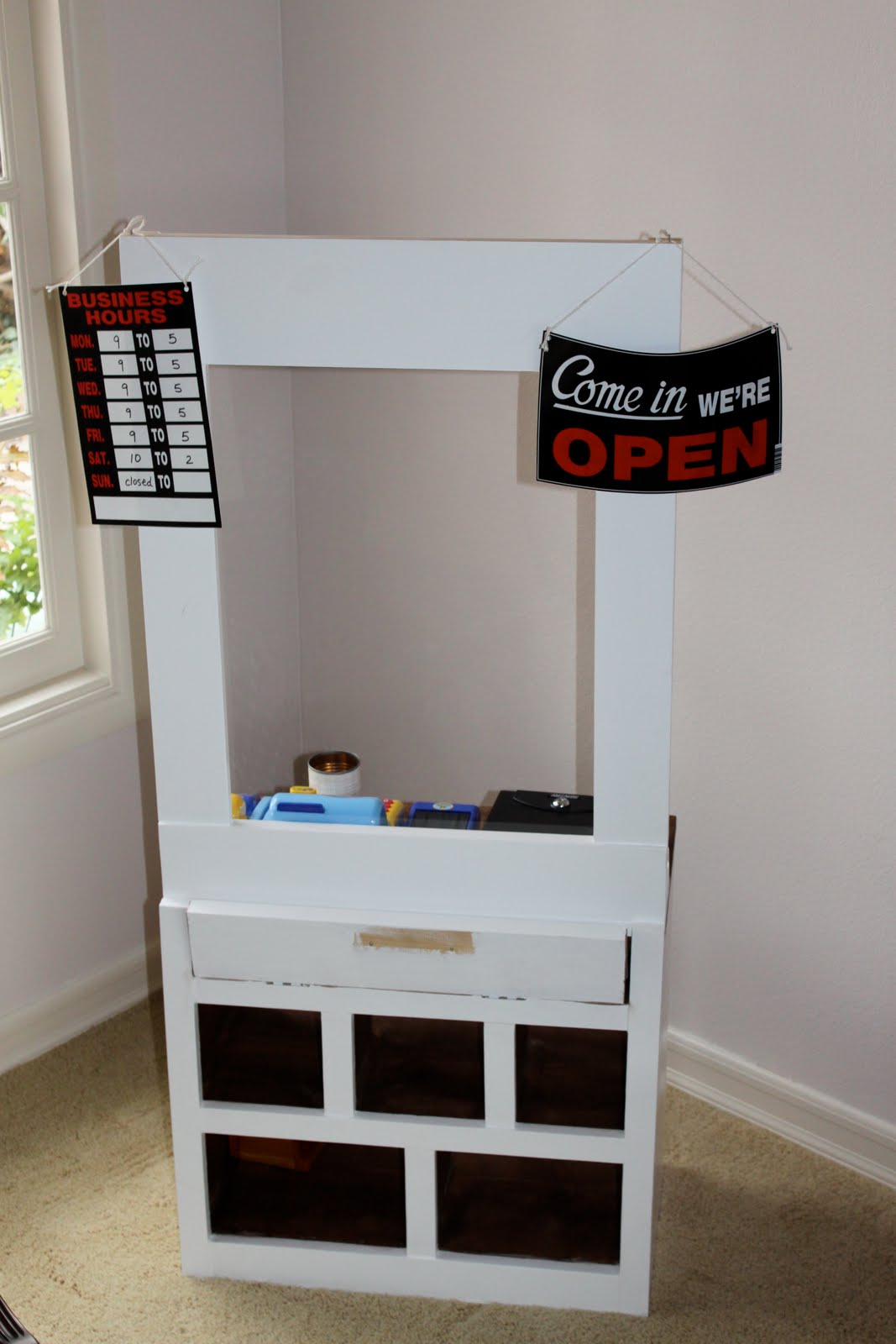 Made pieces for reese pretend play wooden post officebank pretend play wooden post officebank solutioingenieria Gallery